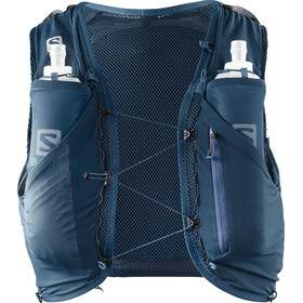 Salomon Adv Skin 5 Backpack Set Herr poseidon/night sky